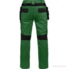 Брюки WURTH / MODYF с навесными карманами CETUS зеленый/черный