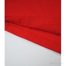 Мужская футболка с длинным рукавом красная
