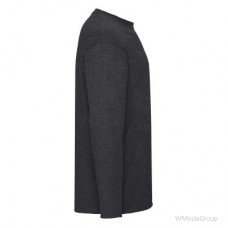 Мужская футболка с длинным рукавом Темно-Серый Меланж