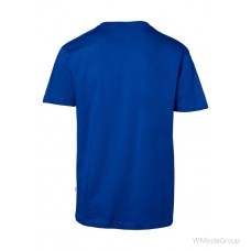 Футболка HAKRO 292 с круглым вырезом, синяя