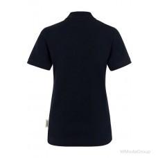 Женская рубашка-поло HAKRO 110 REGULAR FIT черная