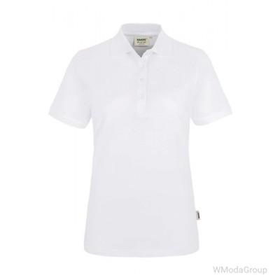 Женская рубашка-поло HAKRO 110 REGULAR FIT белая