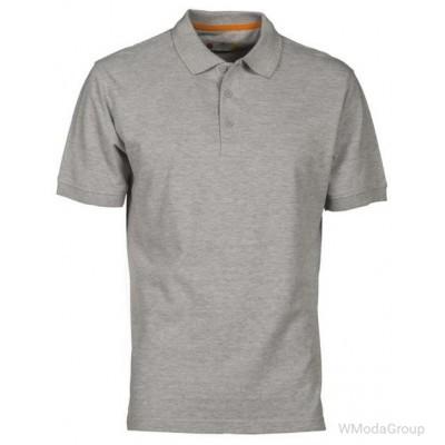 Мужская рубашка-поло PAYPER VENICE серый меланж