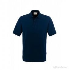 Рубашка поло классическая HAKRO 810 темно-синяя