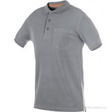 Рубашка-поло WURTH / MODYF с карманом JOB + серая