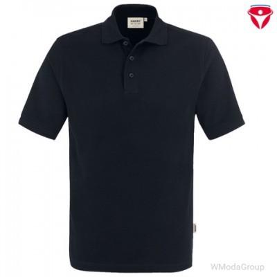 Рубашка поло классическая HAKRO 810 черная