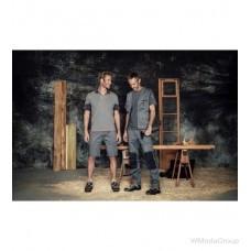 Рубашка-поло WURTH / MODYF STRETCHFIT, серая