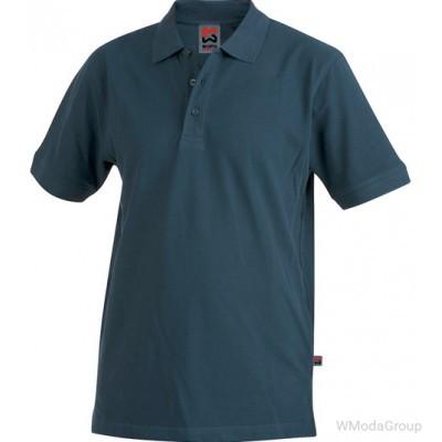 Рубашка поло WURTH / MODYF темно-синяя
