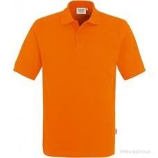 Классическая рубашка-поло HAKRO оранжевая