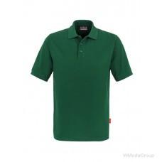 Классическая рубашка-поло HAKRO зеленая