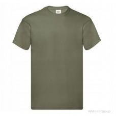 Мужская футболка оливковая