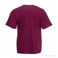 Мужская футболка Премиум бордо