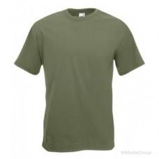 Мужская футболка Премиум оливковая