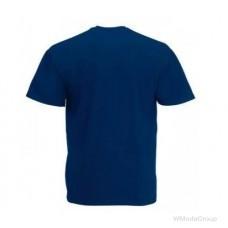 Мужская футболка Премиум темно-синяя