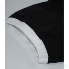 Мужская футболка с манжетами Valueweight Ringer черная