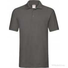 Мужская тенниска Premium polo графит