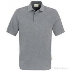 Рубашка поло классическая HAKRO 810 серая
