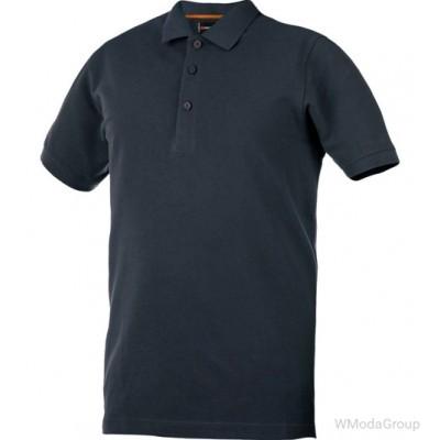 Рубашка-поло WURTH / MODYF JOB антрацитового цвета