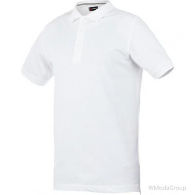 Рубашка-поло WURTH / MODYF JOB белая