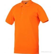 Рубашка-поло WURTH / MODYF JOB оранжевая