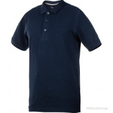 Рубашка-поло WURTH / MODYF JOB темно-синяя