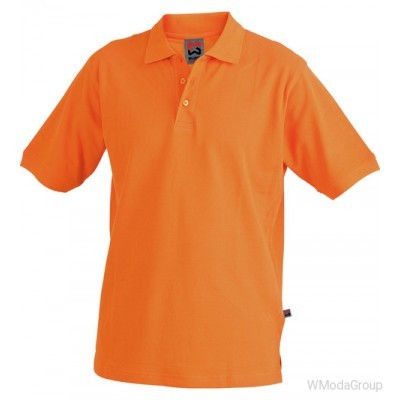 Рубашка-поло MODYF оранжевая