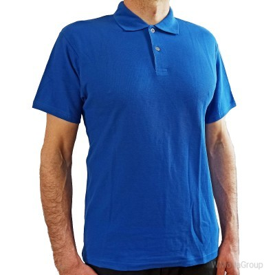 Рубашка-поло SCREEN STARS синяя