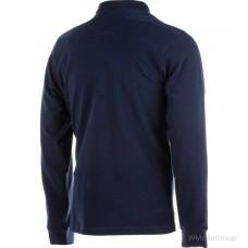 Рубашка-поло WURTH JOB длинный рукав темно-синяя