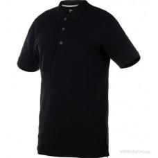 Рубашка-поло WURTH JOB с карманом черная