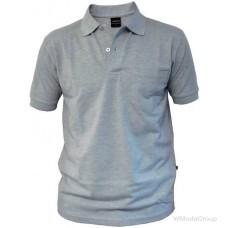 Серая рубашка-поло WURTH с накладным карманом