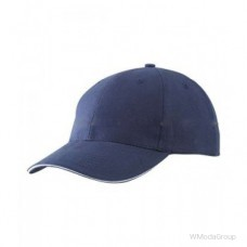 Бейсболка легкая Тёмно-Синий / Белый