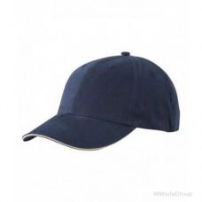 Бейсболка легкая Тёмно-Синий / Бежевый