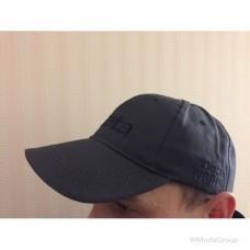 Фирменная кепка бейсболка BETA серый графит