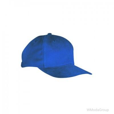 Классическая 6-панельная ярко-синяя кепка