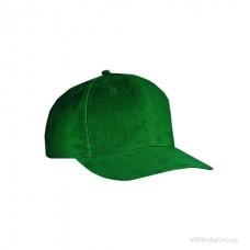 Классическая 6-панельная тёмно-Зелёная кепка