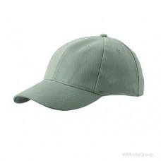 Классическая 6-панельная бежевая кепка
