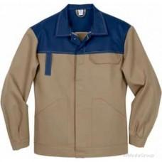 Куртка MODYF Eco Print беж с синим