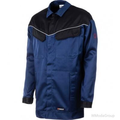 Куртка сварочная multinorm MODYF темно-синяя с черным