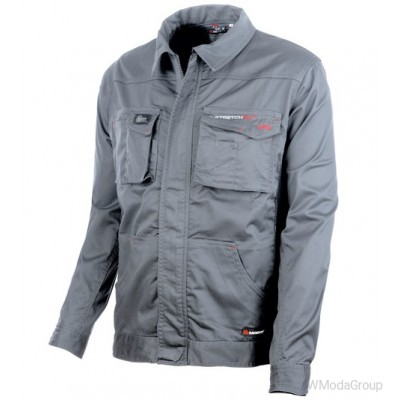Куртка WURTH / MODYF STRETCHFIT HR серая