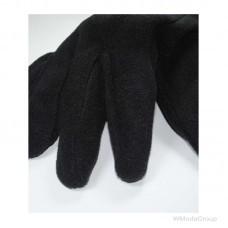 Перчатки из микрофлиса черные