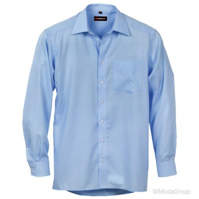 Голубая рубашка MODYF