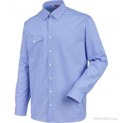 Синяя рубашка MODYF