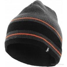 Вязаная шапка CXS SIRIUS (Серый-оранжевый)