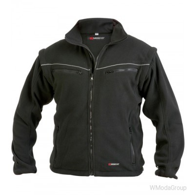 Черная флисовая куртка WURTH / MODYF SYSTEM