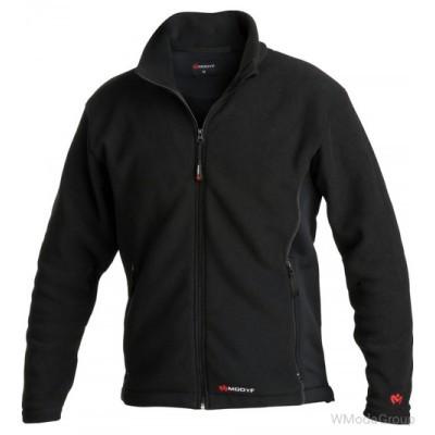 Куртка из флиса MODYF черного цвета