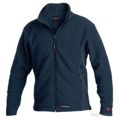 Куртка из флиса MODYF темно-синего цвета