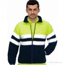 Флисовая сигнальная куртка VESIN FORRO POLAR Alta Visibilidad 3051 AF/AM