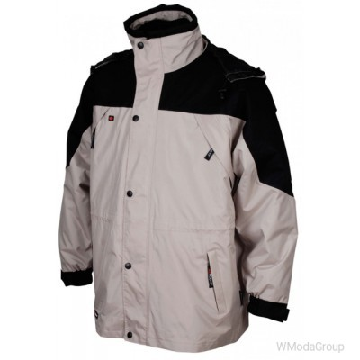 Куртка парка WURTH / MODYF 3-IN-1 бежевая
