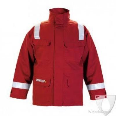 Сварочная зимняя куртка парка HYDROWEAR MORRA RED FR AST