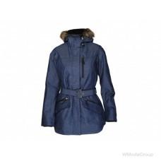 Темно-синяя женская куртка Columbia Carson Pass II